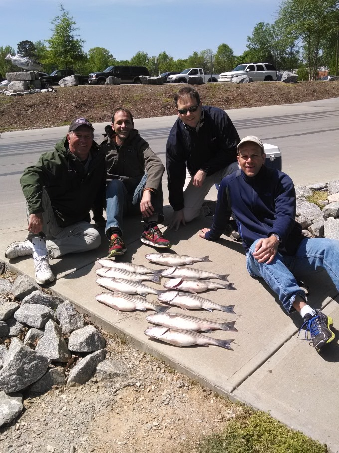 Outer banks fishing boat fingeance charters for Bass fishing north carolina