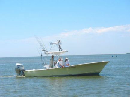 Outer banks fishing boat fingeance charters for Fishing charters outer banks